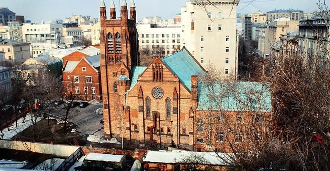 Англиканский собор Святого Андрея Средневековье в Москве Средневековье в Москве 63