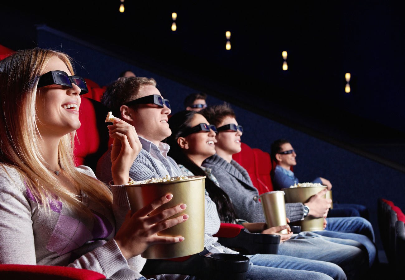Кинотеатры со скидками для студентов