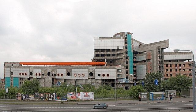 Аквапарк Аквадром Заброшенные здания Москвы Заброшенные здания Москвы