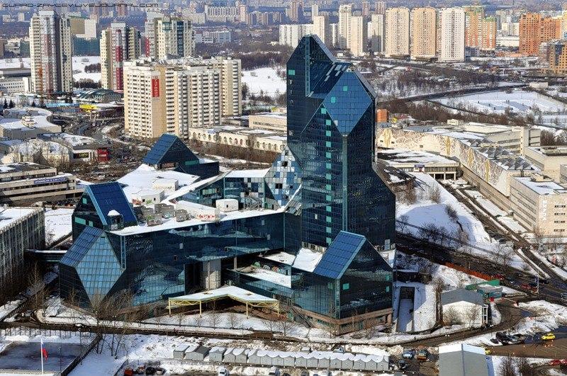 Бизнес-центр Зенит Заброшенные здания Москвы Заброшенные здания Москвы