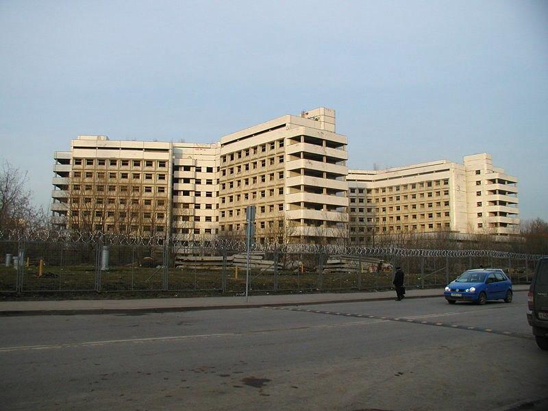 Ховринская больница Заброшенные здания Москвы Заброшенные здания Москвы