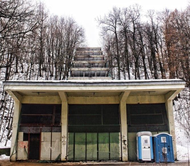 Эскалаторная галерея Заброшенные здания Москвы Заброшенные здания Москвы
