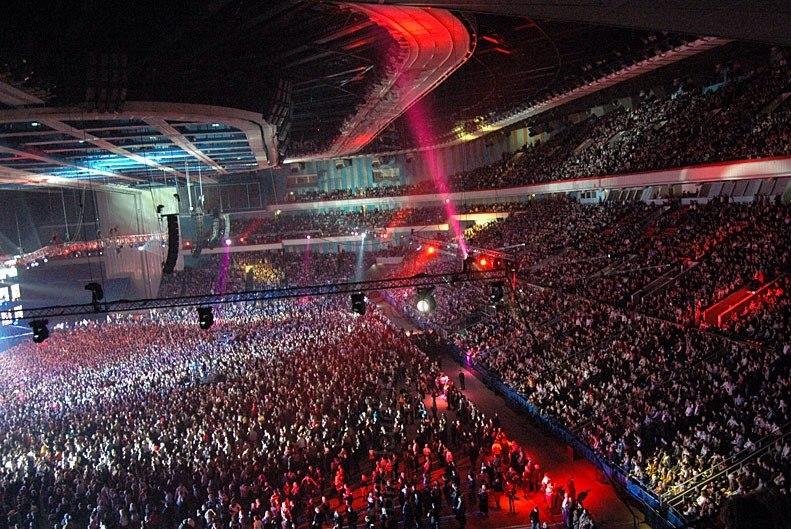 Зрительный зал Олимпийского Топ 10 площадок для концертов Топ 10 площадок для концертов