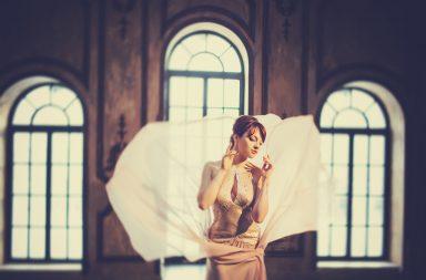Молодая московская певица и актриса Мария Демьяненко
