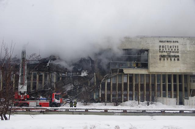 Photo of Возбуждено уголовное дело по факту пожара в библиотеке ИНИОН  Возбуждено уголовное дело по факту пожара в библиотеке ИНИОН 16386052476 b37097ed9d z