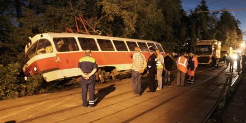 Photo of На юге Москвы перевернулся трамвай На юге Москвы перевернулся трамвай На юге Москвы перевернулся трамвай 450336