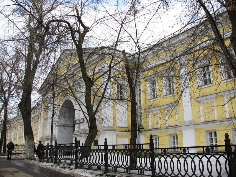 Лефортовский дворец  От прекрасных здешних мест, или Дома выдающихся людей в Москве