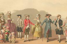 модные магазины 18 века