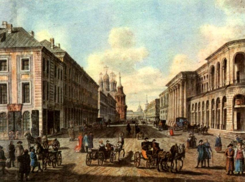 Модные магазины на Ильинке. Фото: 18 век Модные магазины в Москве Модные магазины Москвы второй половины 18 века gcpeca820ayh