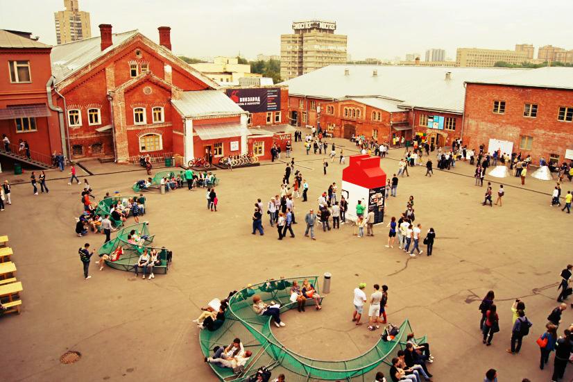 Креативное пространство креативные пространства Из завода в культурный центр: Современные креативные пространства Москвы qfRLfDP1zBk1