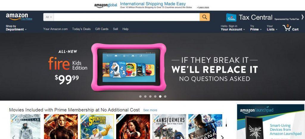 Amazon онлайн-магазины Со всего света: крупные онлайн магазины Amazon 1024x467