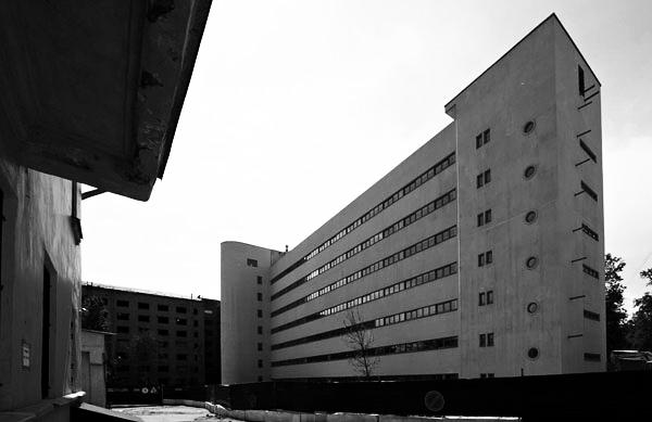 Дом-коммуна на улице Орджоникидзе Конструктивизм в Московской архитектуре Конструктивизм в Московской архитектуре