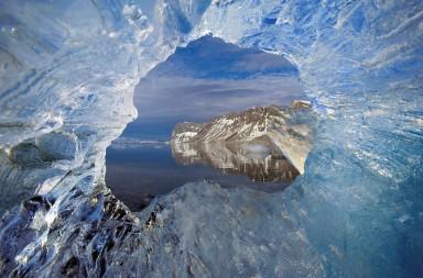площадь льдов в Арктике сократилась