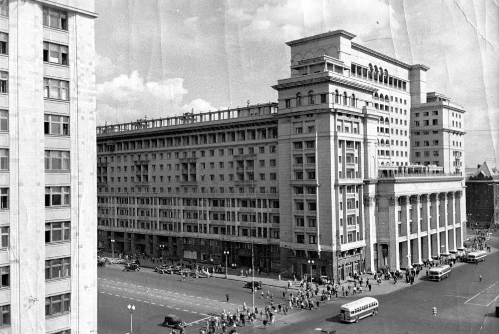 гостиница «Москва» дома-коммуны «Москва не сразу строилась»: столица в 30-е годы cigi 1940 e