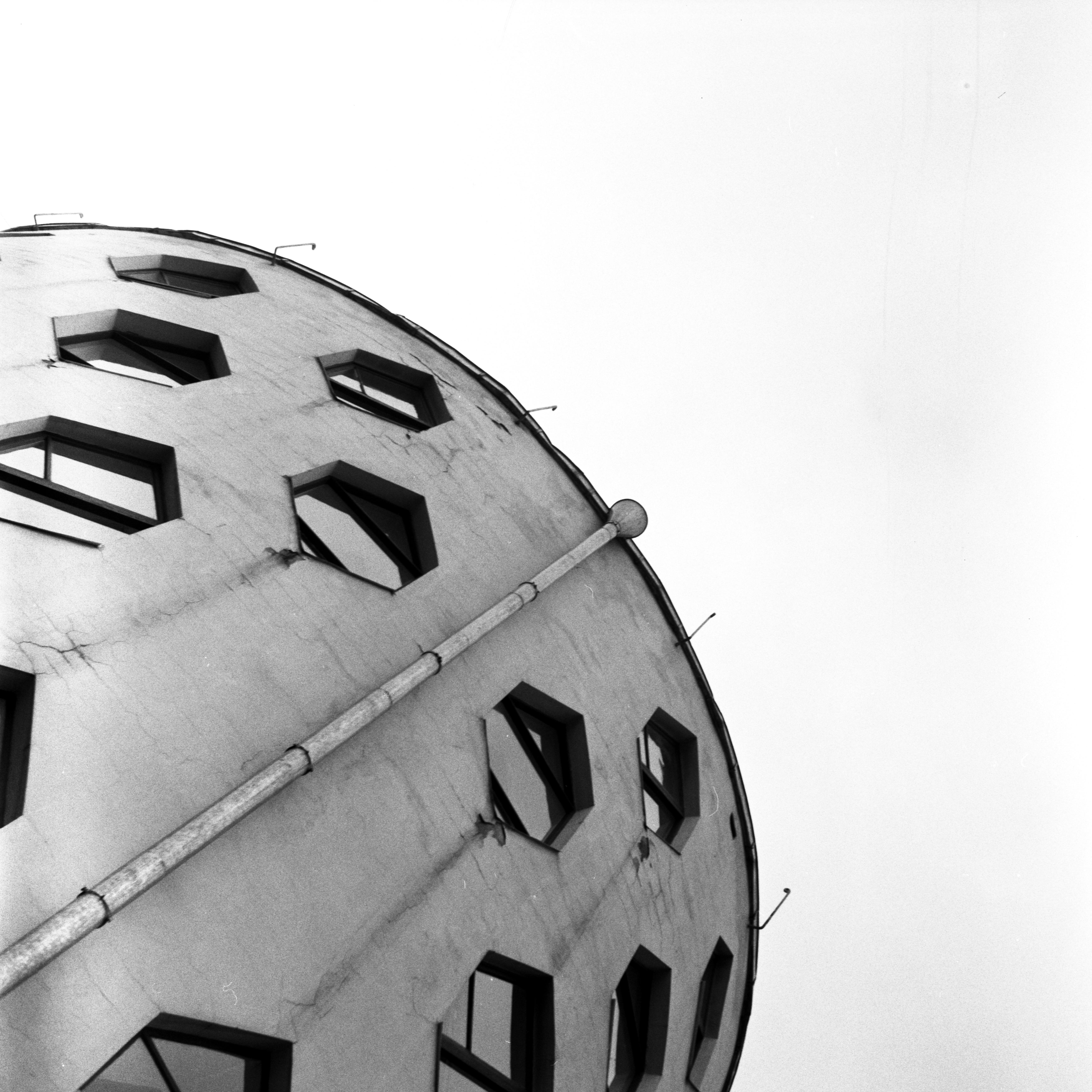 Дом-мастерская Константина Мелиникова конструктивно Незаметные шедевры. Сносить или не сносить? 16131096146 c924a4b724 o