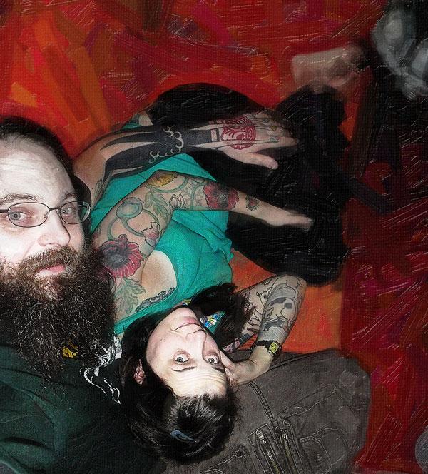 Шэннон Ларратт с женой body modification extrimists Иные: BME как субкультура 10