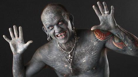 Эрик Спраг body modification extrimists Иные: BME как субкультура 16