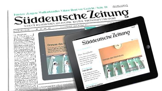 Süddeutsche Zeitung газеты Газеты, с которых начинается качественная журналистика image7