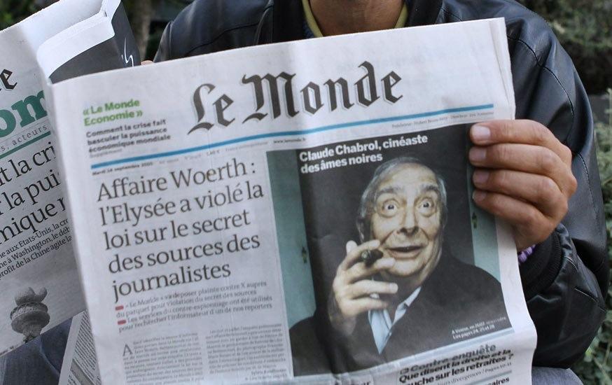 Le Monde газеты Газеты, с которых начинается качественная журналистика image8