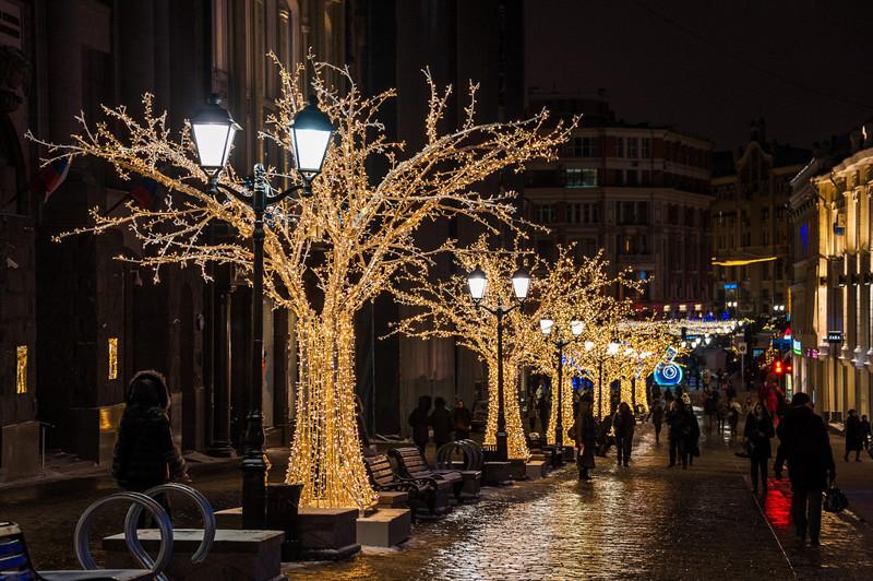 Новый год в Москве, световое оформление новый год в москве Москву в Новый год украсят в итальянском стиле IMG 3414