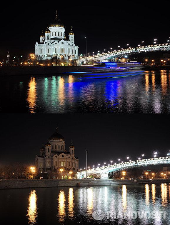 "Более 1600 зданий отключат подсветку в ""Час Земли"" 04 11"