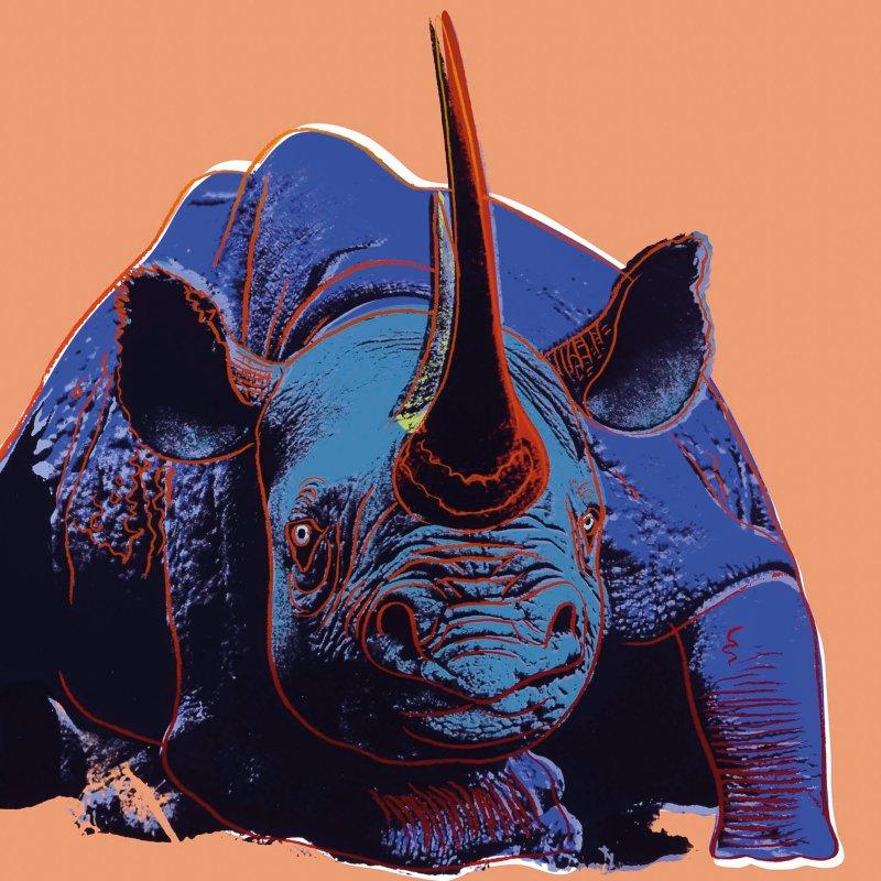Выставка «Энди Уорхол. Вымирающие виды» в Дарвиновском музее 02 16