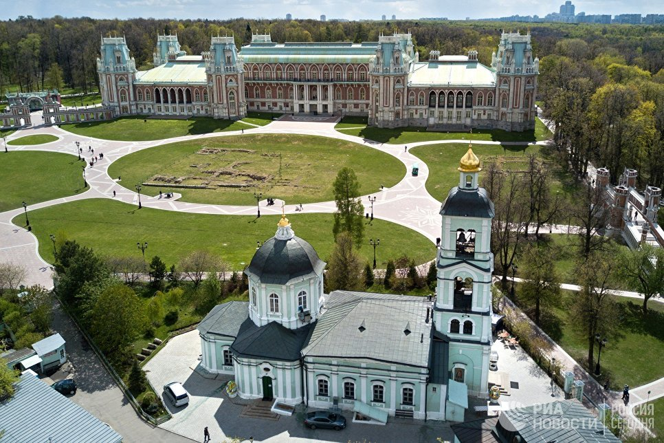 """Бесплатные квесты в парке """"Царицыно"""" 02 11"""