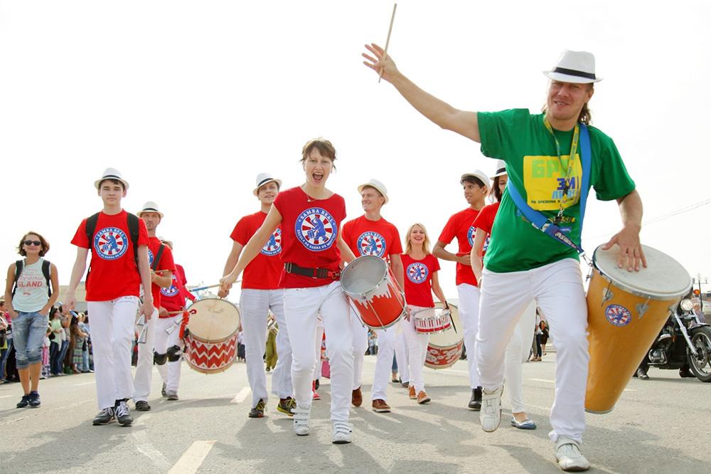 Бразильский карнавал в Измайловском парке Бразильский карнавал в Измайловском парке 02 16