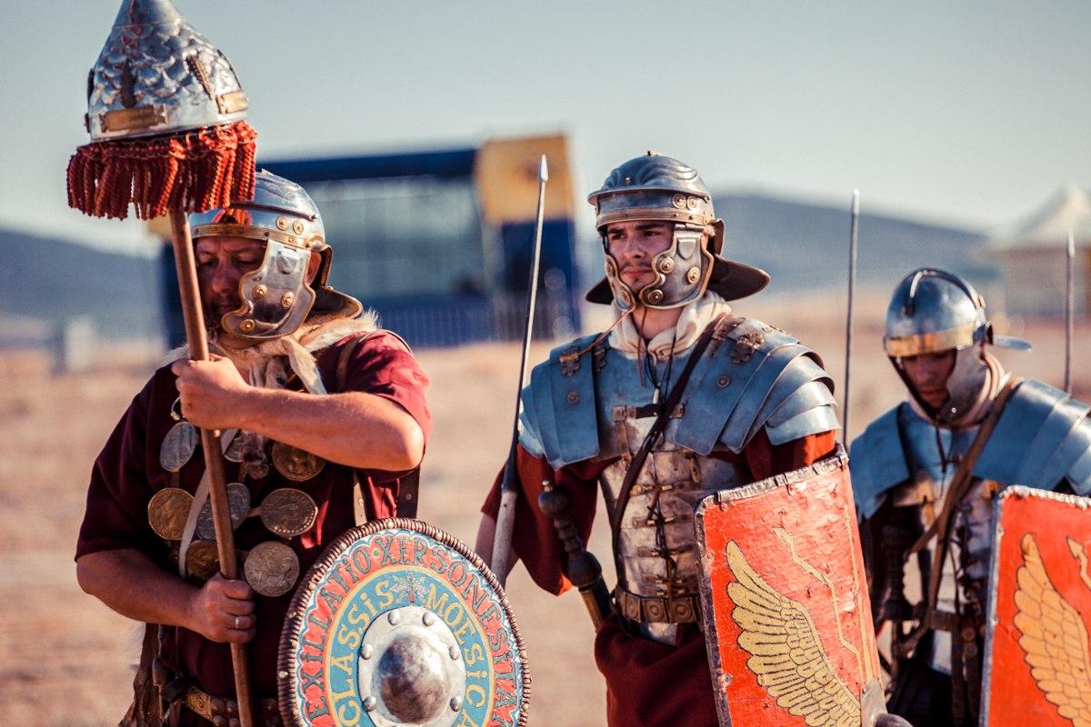 В метро запустят поезд с римскими легионерами В метро запустят поезд с римскими легионерами 02 23
