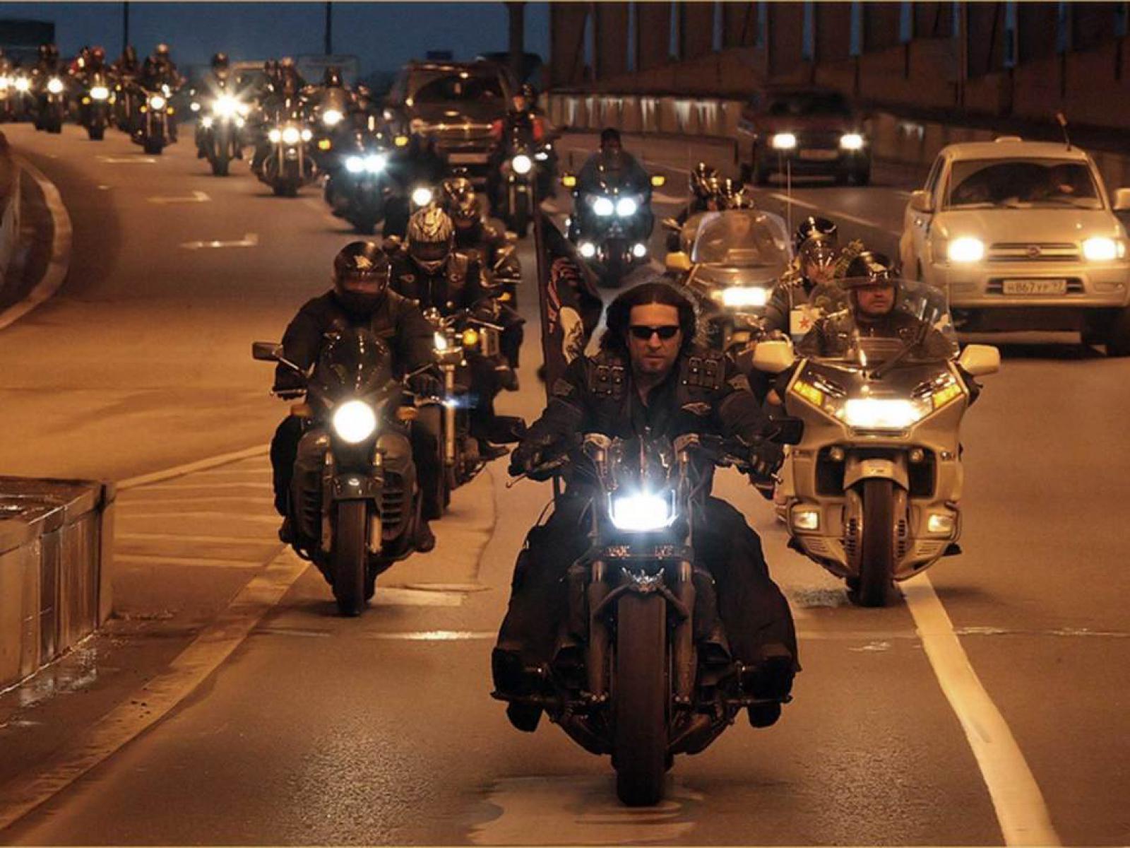 мотоциклисты Москва – город для мотоциклистов 02