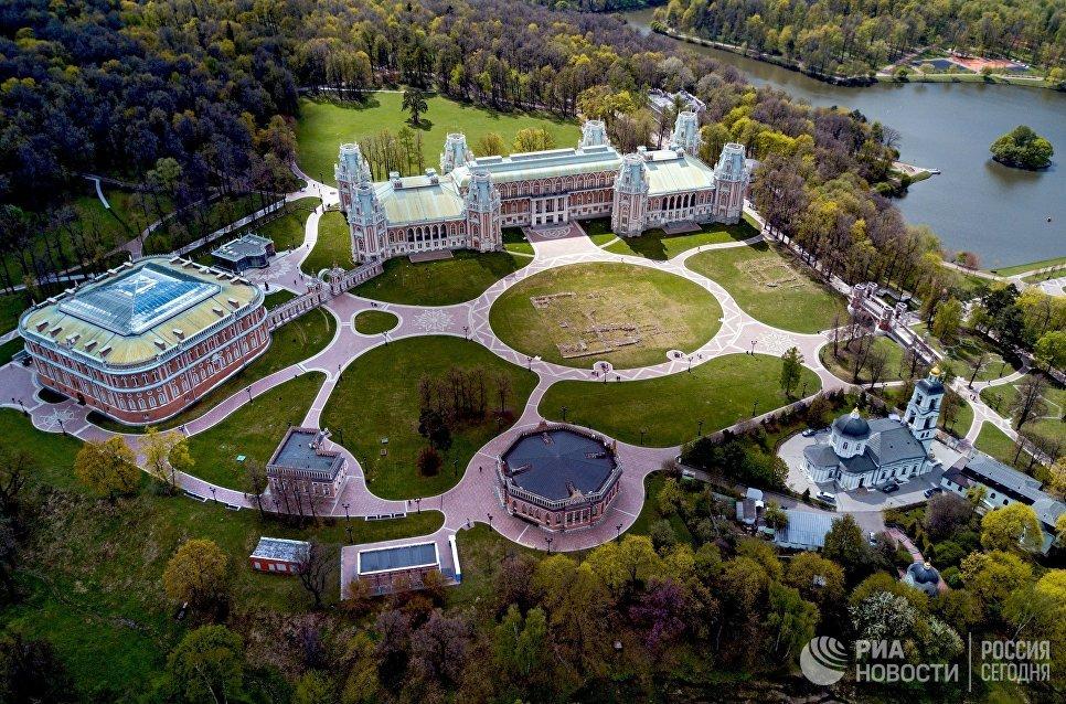 """Бесплатные квесты в парке """"Царицыно"""" 04 12"""