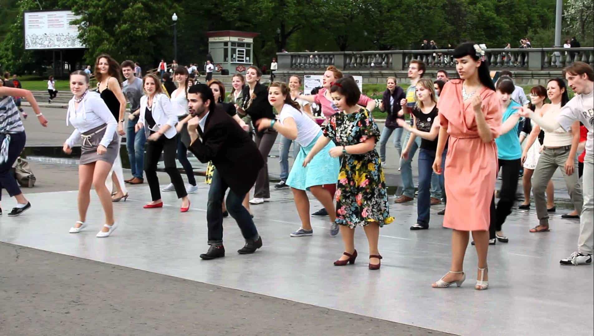 День танца в парке Горького День танца в парке Горького 03 12