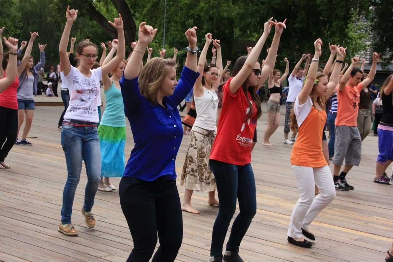 День танца в парке Горького День танца в парке Горького 05 11