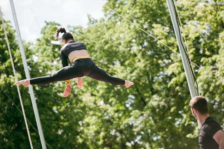 Фестиваль воздушной гимнастики Фестиваль воздушной гимнастики 4 10