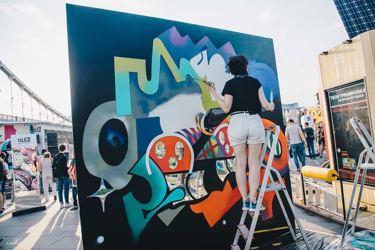 «30 граней тебя»: выставка уличных художников в Музеоне до 6 августа