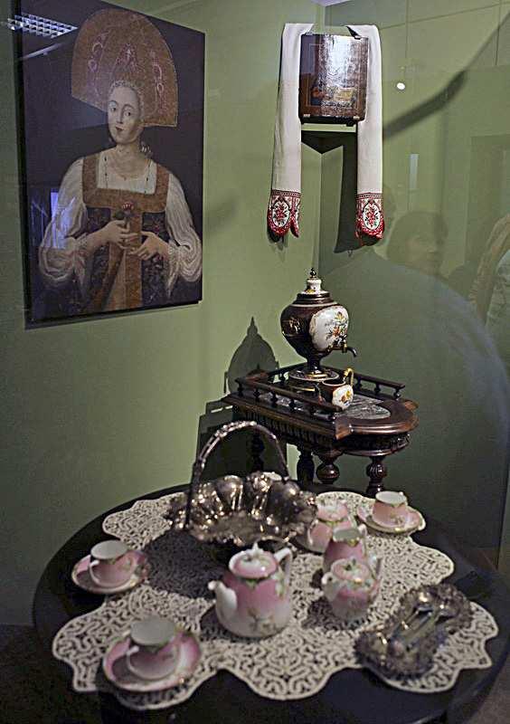 Выставка «У самовара. Москва чайная» Выставка «У самовара. Москва чайная» 2 7