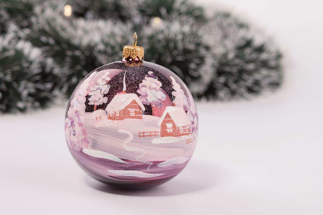 Хрупкое чудо на новогодней елке Хрупкое чудо на новогодней елке 1 20