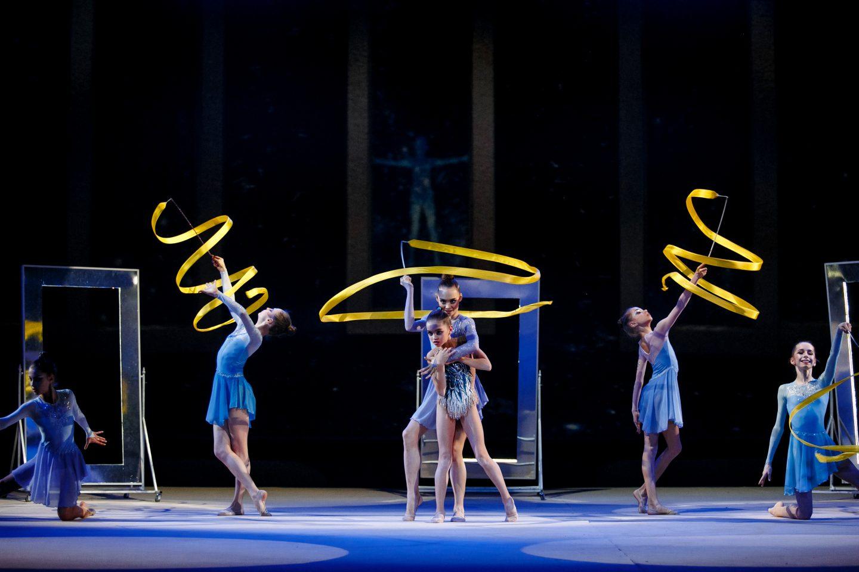 Шоу олимпийских чемпионов с Маргаритой Мамун. Рождение звезды