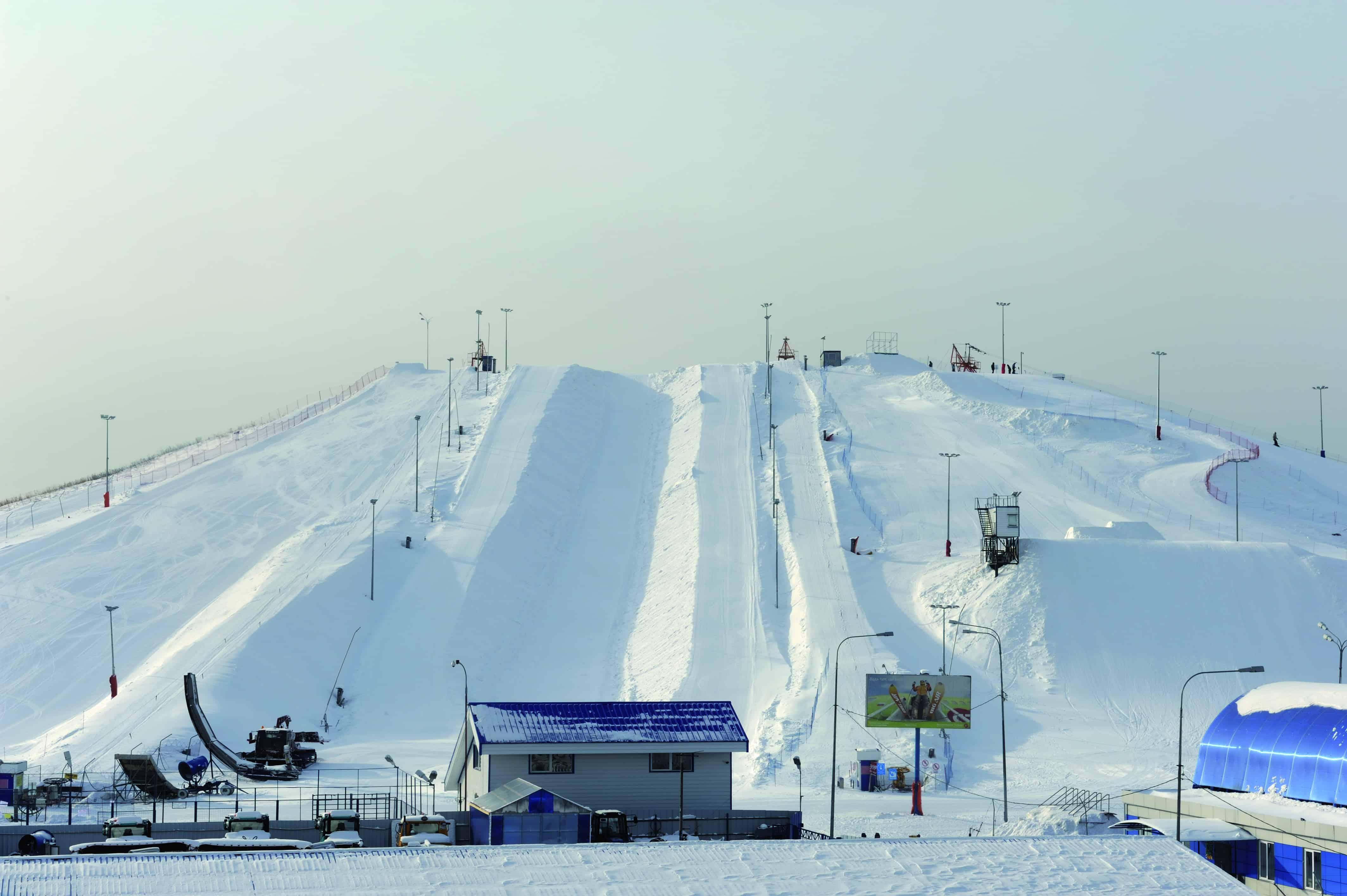 Новые горнолыжные склоны в Москве Новые горнолыжные склоны в Москве 2 13