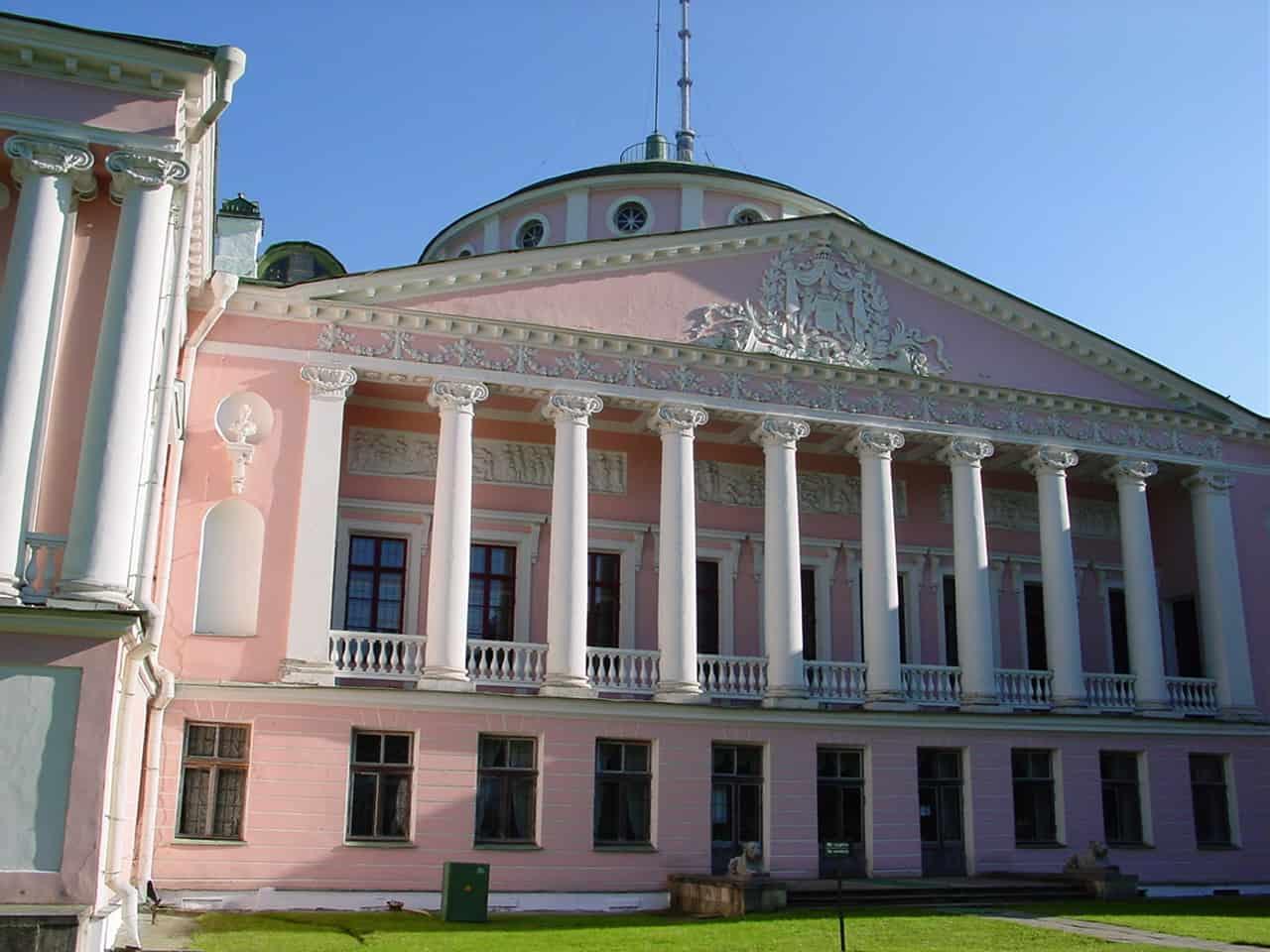 "Реставрация дворца в усадьбе ""Останкино"" 2 7"