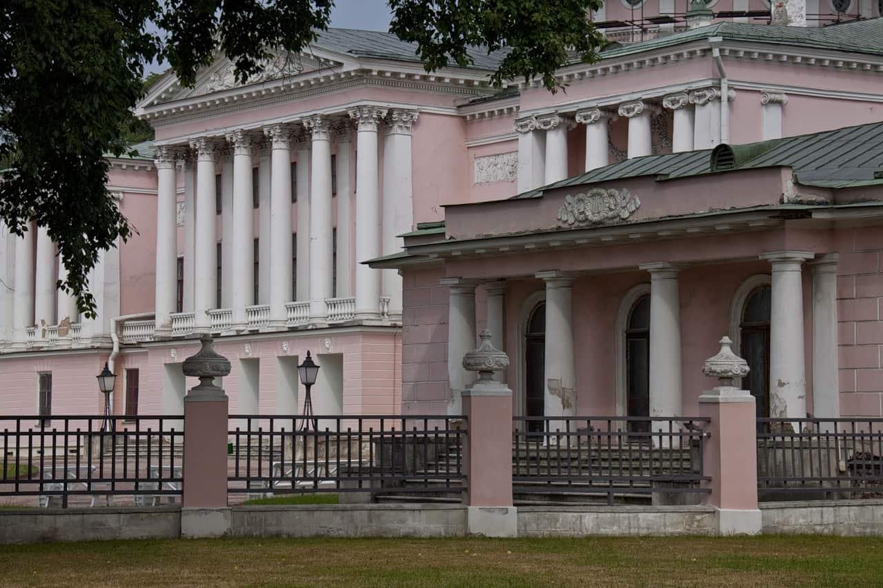 "Реставрация дворца в усадьбе ""Останкино"" 3 7"