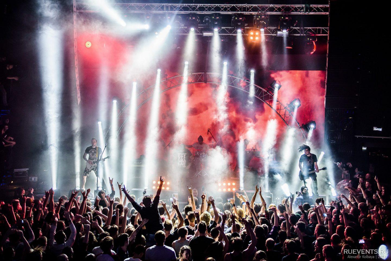 Концерт Stigmata в клубе Red
