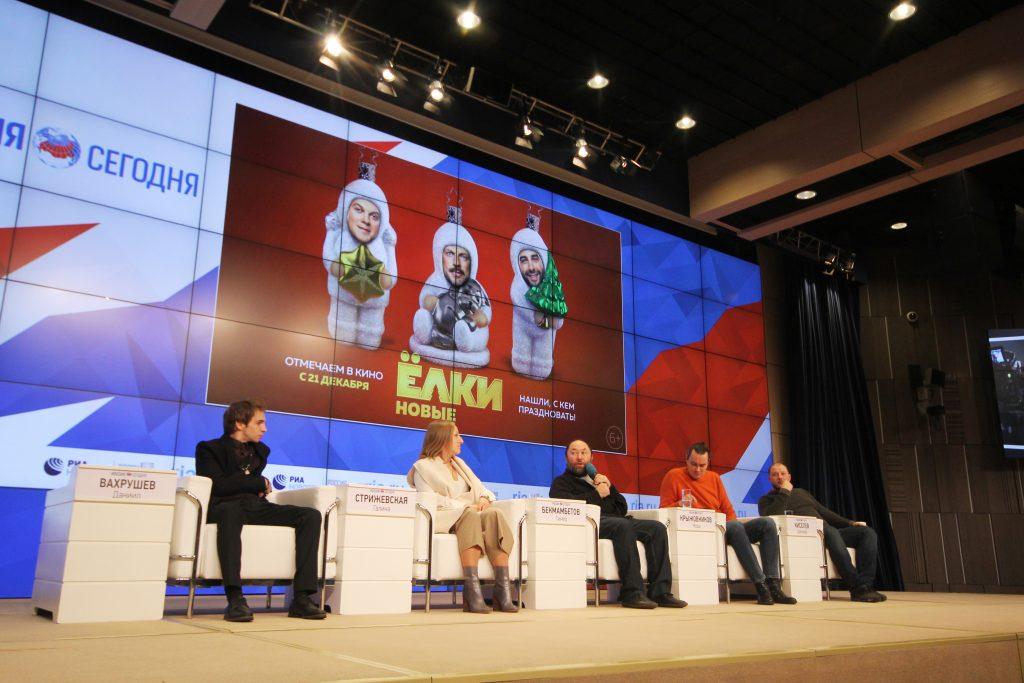 В Москве состоялась премьера новых «Ёлок» В Москве состоялась премьера новых «Ёлок» 2 16 1024x683