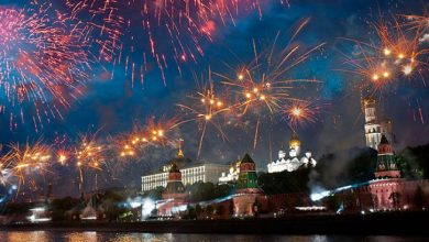 Photo of Салют 23 февраля в Москве Салют в Москве на 23 февраля Салют 23 февраля в Москве 1 17 390x220