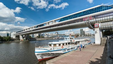 "Photo of Экскурсия по мосту ""Багратион"" Мост «Багратион» Экскурсия по мосту ""Багратион"" 1 15 390x220"