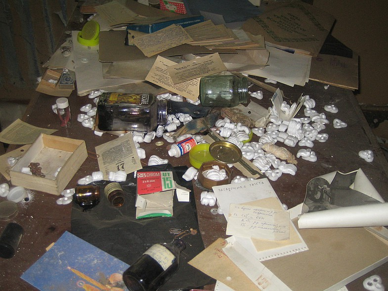 Заброшенная лаборатория ВИЭВ Заброшенная лаборатория ВИЭВ 4 12