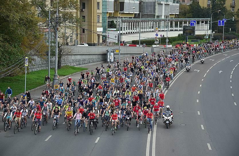 Большой Московский велопарад Большой Московский велопарад 2 28