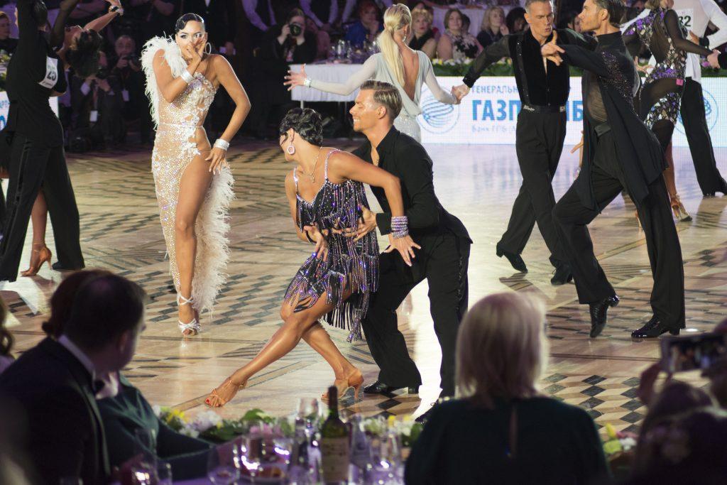 Третье место - пара из Италии Стефано Мориндо и Дарья Глухова Кубок мира по латиноамериканским танцам 2018 Кубок мира по латиноамериканским танцам 2018 DAY 4888 1024x683