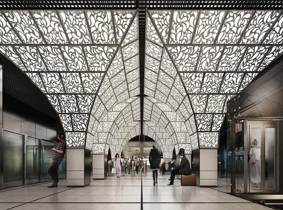 Новые станции метро, которые начнут работать в этом году Новые станции метро, которые начнут работать в этом году 2 11