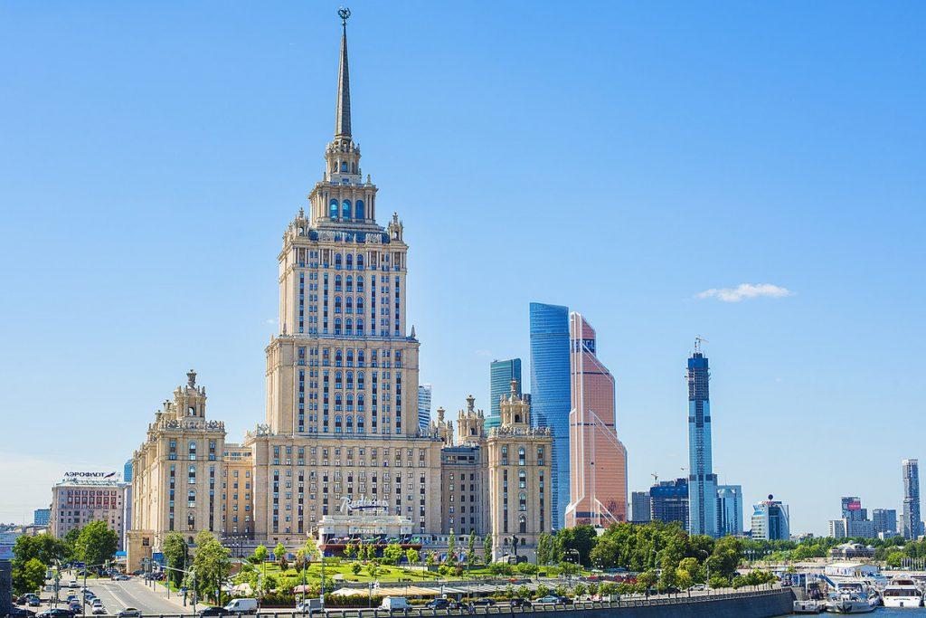 Ukraina отель Москва Пять лучших отелей Москвы Пять лучших отелей Москвы Ukraina 1024x683